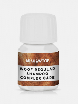Miau & Woof WOOF REGULAR COMPLEX CARE - One Step Shampoo