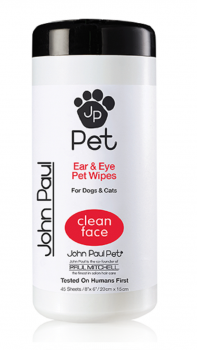 John Paul Pet Ear & Eye Pet Wipes
